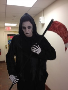 Death, the Temp Reaper.