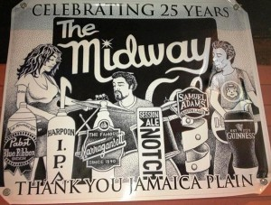 Midway cafe logo